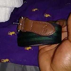 Raulph Lauren Polo Belt